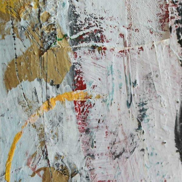 "Deep look at a contemporary wall art. ""Headmaster"""