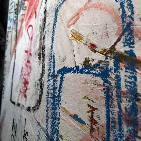 "Deep look into a Pop Art artwork. ""Delete Zone"""