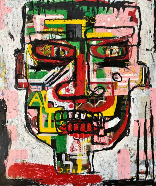 """""""Headmaster"""" Neo Expressionist wall art for sale"""