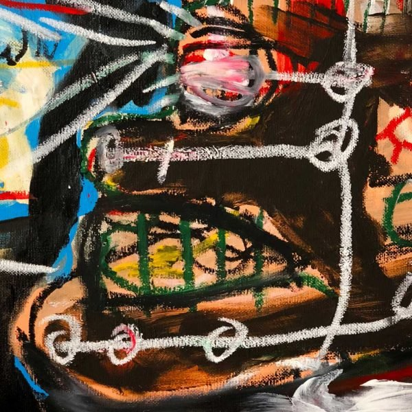 """Deep look into a Pop Art artwork. """"Manhattan World"""""""