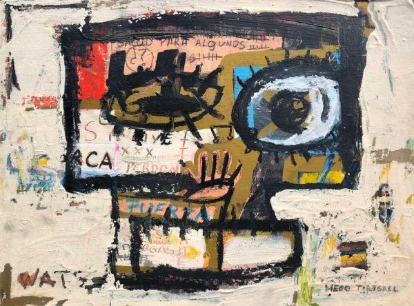 """""""Salud para todos, perdón y fuerza Painting"""" modern artwork for sale"""