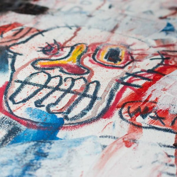 "Deep look at a contemporary wall art. ""Snow Face"""
