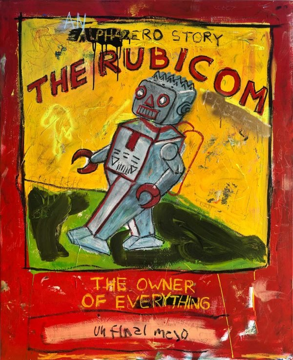 """The Rubicom"" modern artwork for sale"