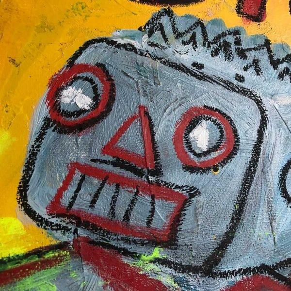 "Deep look into a Pop Art artwork. ""The Rubicom"""