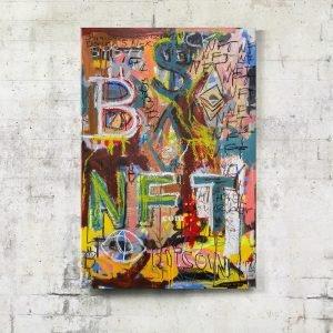 Imagen completa of the art for sale online NFT World, - Studio View.