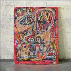 Vulnerable modern artwork for sale